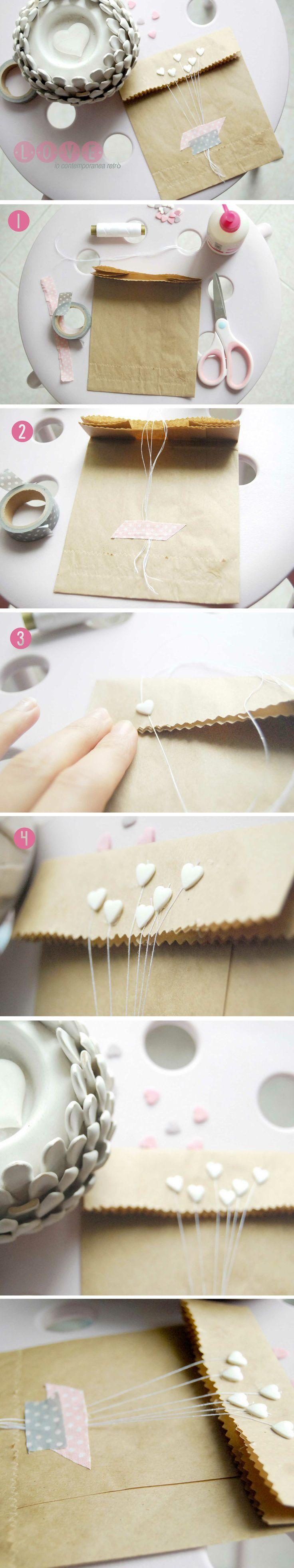 Un dolce e semplice DIY per creare delle originali buste di carta, adatte come…