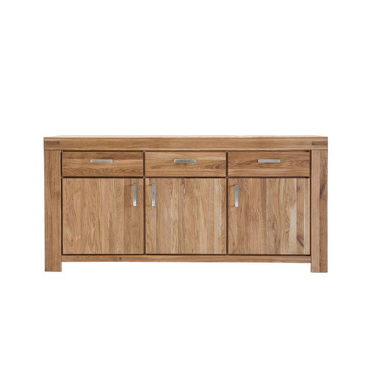 Superb  holz massivholzkommode gro e massiv k chenkommode schrank echtholz sideboard massivholz wohnzimmer sideboards kommode esszimmer wohnz