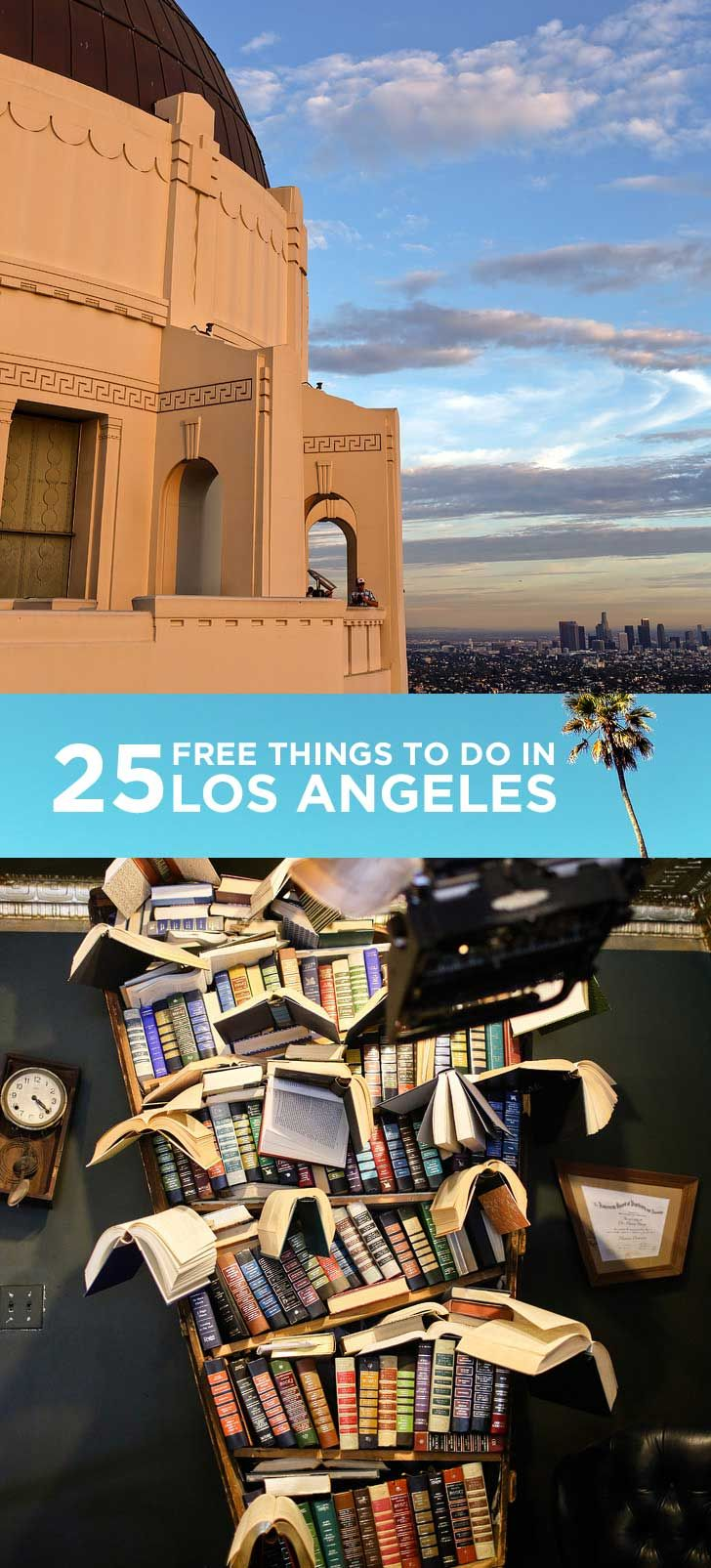 25 Free Things to Do in LA | You can never run out of things to do, and that's one thing we loved about living there. Even if you're on a really tight budget, you still have a lot of options.
