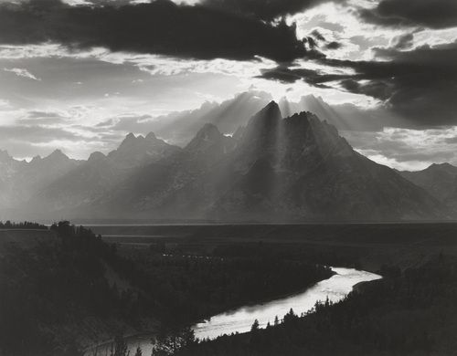 Minor White, Grand Tetons ⛰Ansel Adams Photography : More At FOSTERGINGER @ Pinterest   ⛰