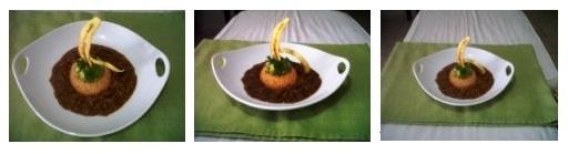 El Chili con Carne. La rica combinación de ingredientes, sabores, texturas, y el toquecito picante. Aqui les dejo mi primer plato de Chili con Carne, acompañado con un rico arroz con semillas de cilantro y coloreado con un toque de bija, un exquisito aguacate en trocitos y aliñado como Guacamole, al cual llame Guacamole al estilo Ceviche, y para aportar decoración y algo crujiente al plato… Chips de Plátanos.