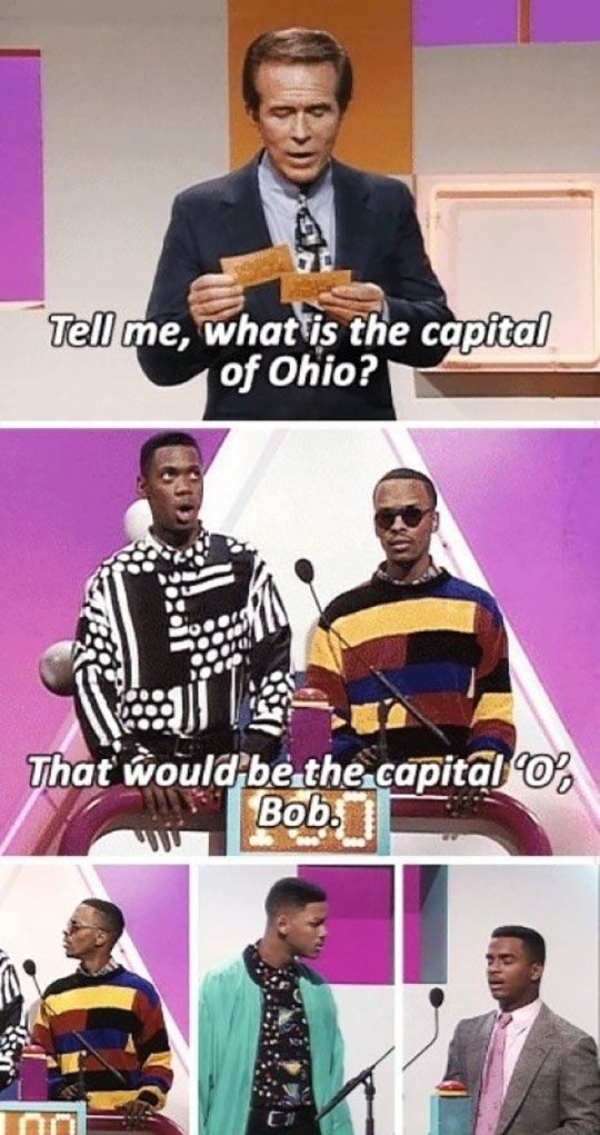 The Fresh Prince of Bel Air!