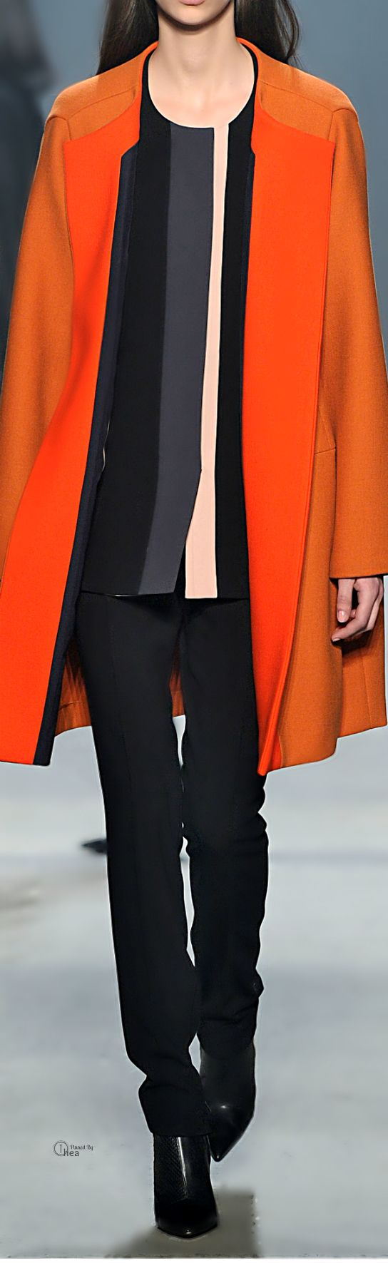 Narciso Rodriguez ● Fall 2014, Stuffed Felt Coat