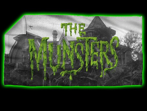 The Munsters House Beach Towel