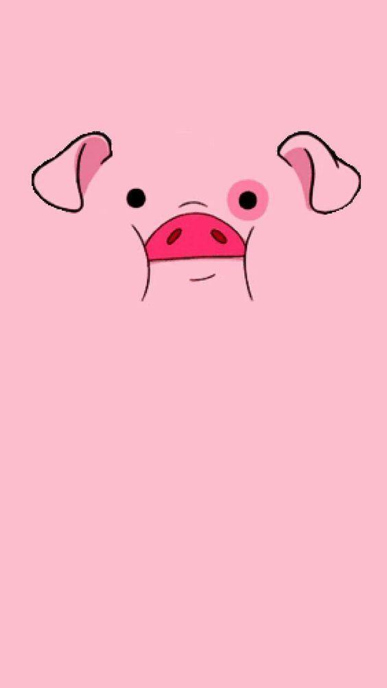 свинки обои на телефон мерцание