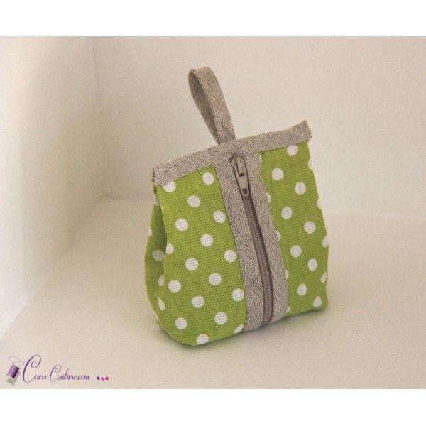 Patron de couture - Comment coudre un sac avec des fronces