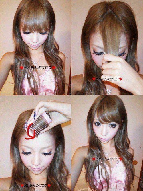 Pinkoolaid: Mode Gyaru makeup and new haircolor!!!                              …