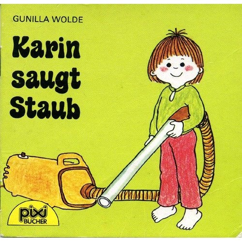 Karin saugt Staub