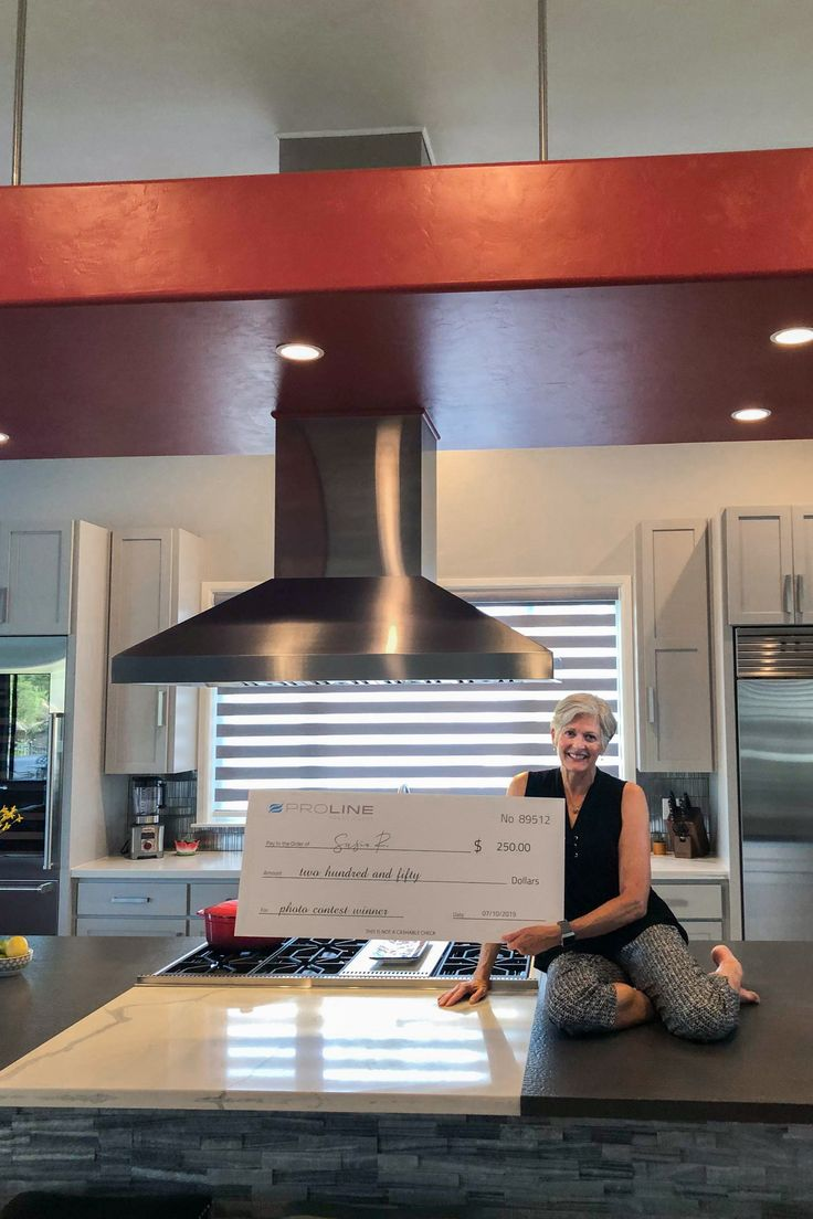 June S Photo Contest Winners Beautiful Kitchens Under Cabinet Range Hoods Island Range Hood
