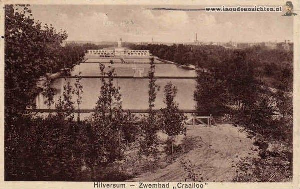 Zwembad Crailoo 1939 - this was such a wonderful, natural pool.