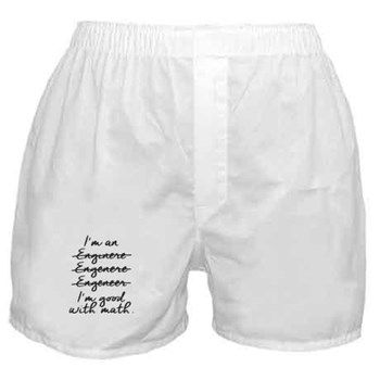 Math Boxer Shorts  im_engineer #engineer #enginere #engenere #engeneer #good_with_math #math #sweatshirt #mug #bag #curtain #hoodie  #profession #phonecase #clock #watch #cards #gifts #vneck #funny