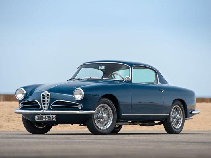 Rare 1957 Alfa Romeo 1900 Super Sprint Coupe
