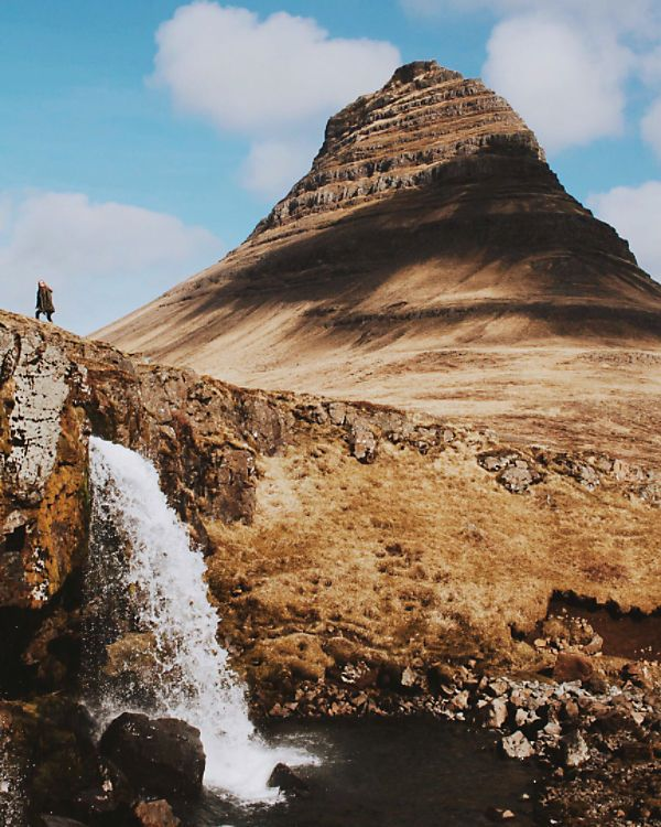 Kirkjufell, Snaefellsnes Peninsula, Iceland #fpescapes by kmgilfillan on Free People. View the whole collection, share styles with FP Me, and read & post reviews.