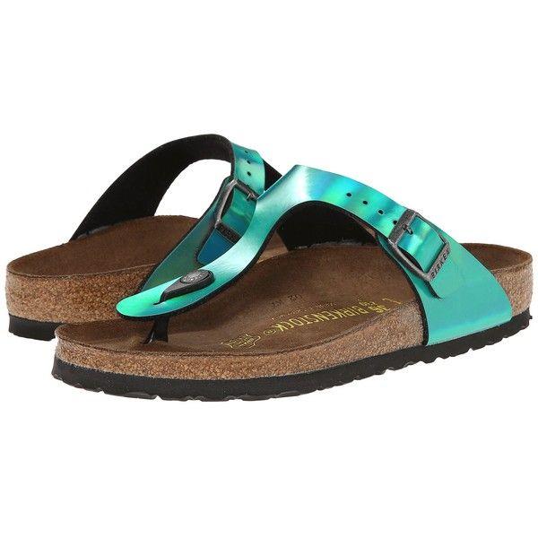 Birkenstock Gizeh Sandals ($95) ❤ liked on Polyvore