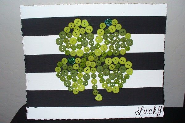 st. patrick's day decorations | Cute St. Patrick's Day Home Decor Craft {Guest Post}