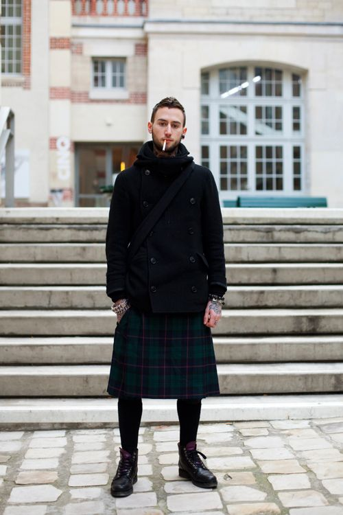 Are We Ready To Discuss Skirt Lengths For Men? « The Sartorialist