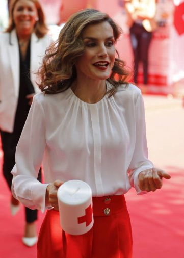 Queen Letizia attends the 'Banderita Day' of the Spanish Red Cross | 05.10.2016