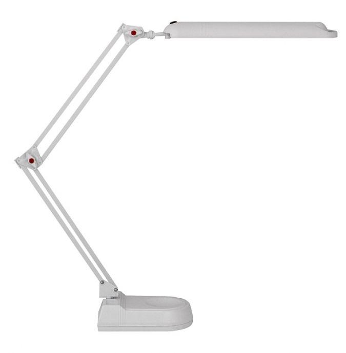 lampa de birou PLANNER2 4428 alba, cu picior ajustabil si abajur orientabil,  marca RabaLux