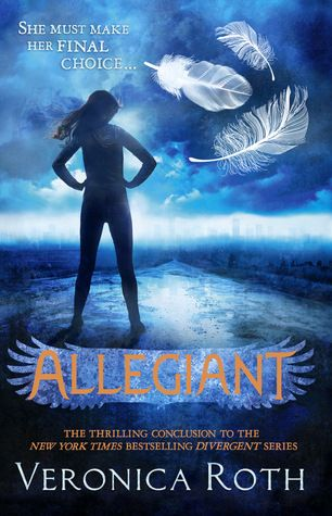 The faction-based society that Tris Prior once believed in is shattered—fractured by violence and power struggles and scarred by loss and betrayal. So when offered a chance to explore the world past the limits she's known, Tris is ready.  (Divergent series - Book 3) http://www.goodreads.com/book/show/18710190-allegiant