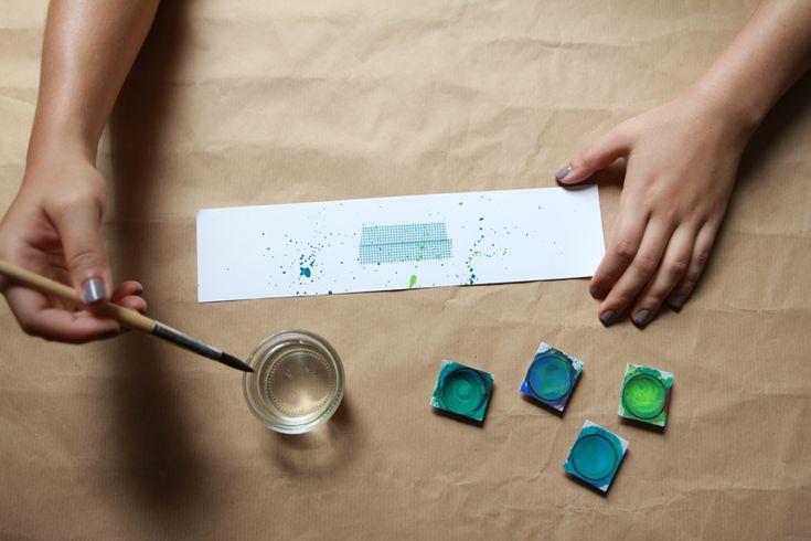 we love handmade   Picknick DIY: Pappteller, Pappbecher und Besteck   http://welovehandmade.at