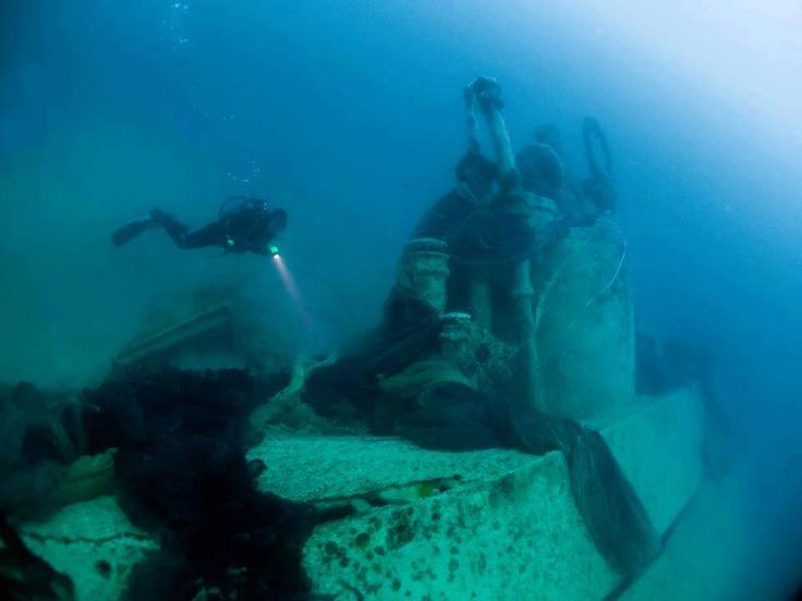 The story of the lost U Boats of the Black Sea: Scuba diving at an intact nazi U Boat wreck