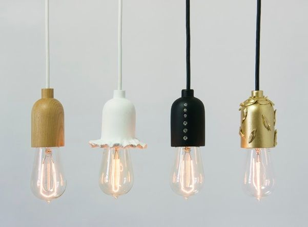 """""""Unique socket holders specifically for nostalgic antique """"Edison"""" style light bulbs introduced around the turn of the 20th Century."""" One of each please."""