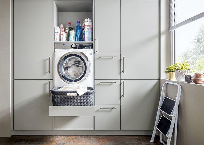 Hauswirtschaftsraum Inspiration Tipps Fur Mehr Ordnung Ubersicht In 2020 Hauswirtschaftsraum Ideen Hauswirtschaftsraum Waschkuchendesign