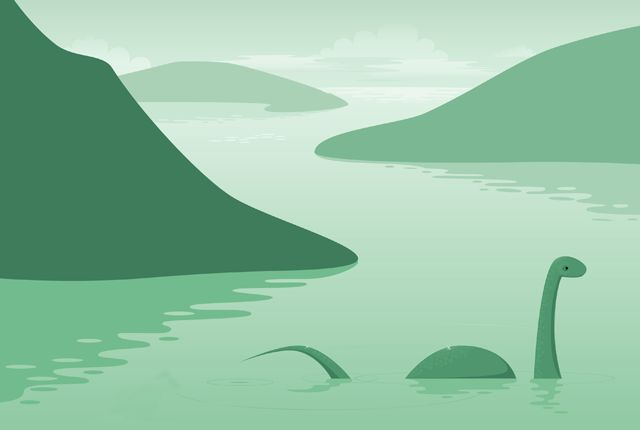 7 Proposed Explanations for the Loch Ness Monster...really? Elephants? Swimming elephants??