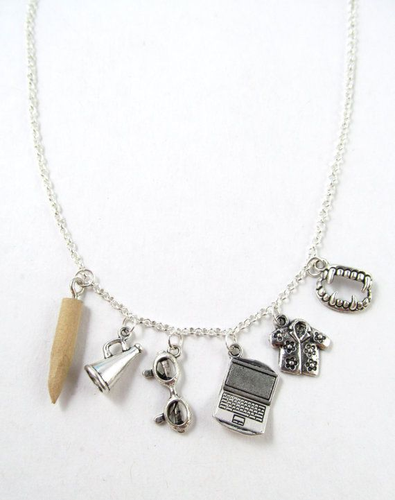 Character Charm Necklace Character Charms