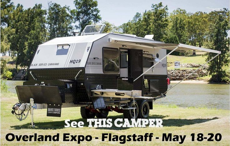 Australian Campers are in the USA! See this and many other models at the Overland Expo in Flagstaff, AZ. May 18-20