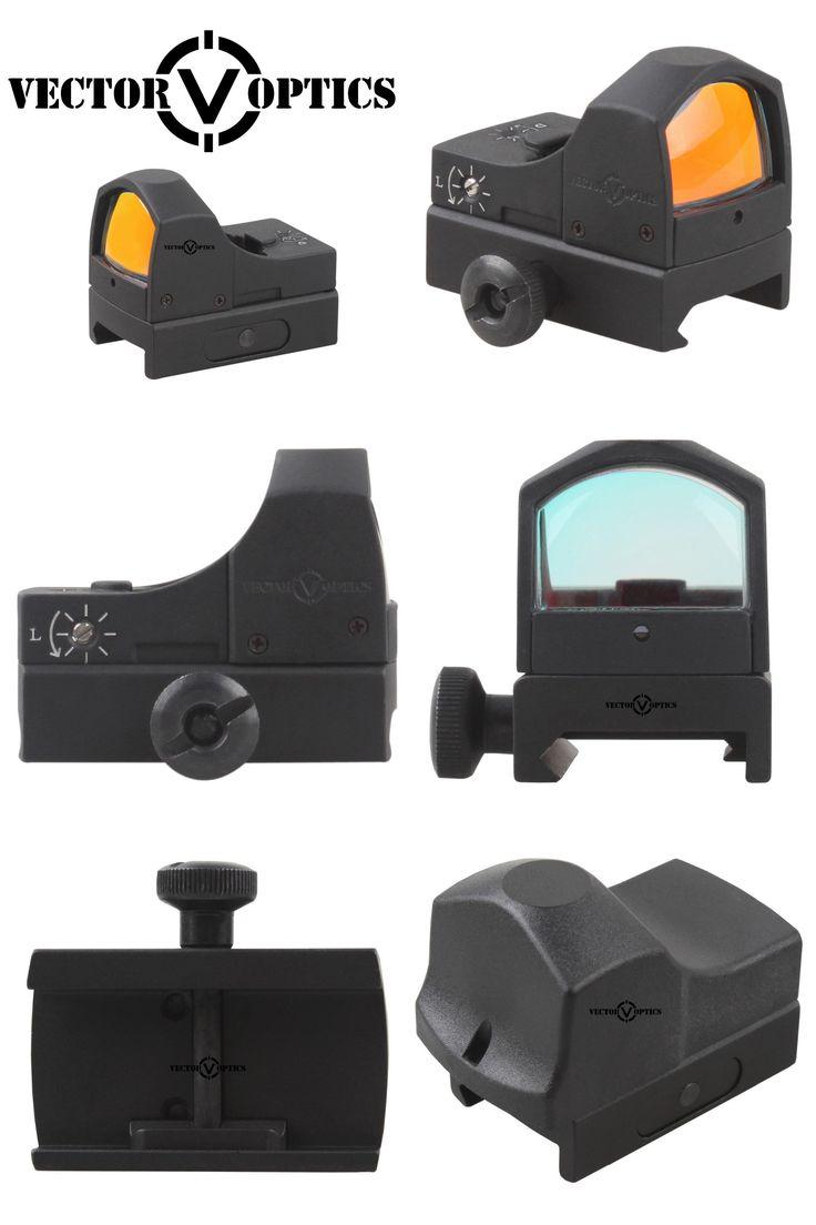 [Visit to Buy] Vector Optics Sphinx 1x22 Mini Auto Brightness Compact Red Dot Scope Doctor 3 MOA 12ga Shotgun Pistol Weapon Sight #Advertisement
