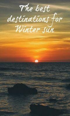 Travel experts pick the best destinations for winter sun #travel #wintersun #familytravel #tips #traveltips #jordan #cyprus #cuba #gambia #southafrica #malta #gozo #oman #lanzarote #méxico