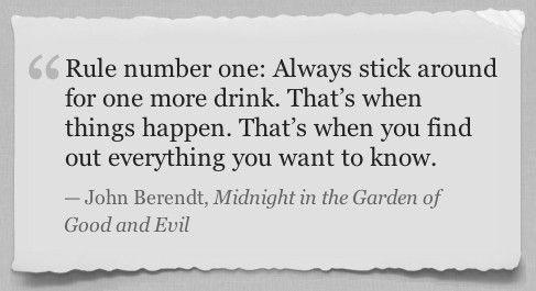John Berendt (Midnight in the Garden of Good and Evil)