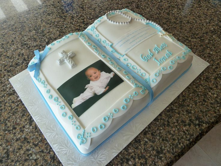 Baptism Bible Cake | Flickr - Photo Sharing!
