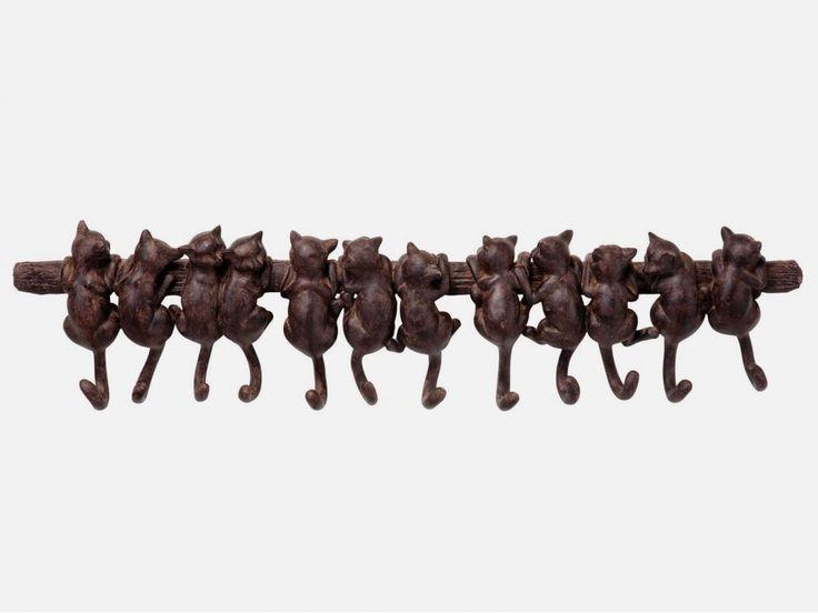 Wieszak Cats — Wieszaki ścienne — KARE® Design
