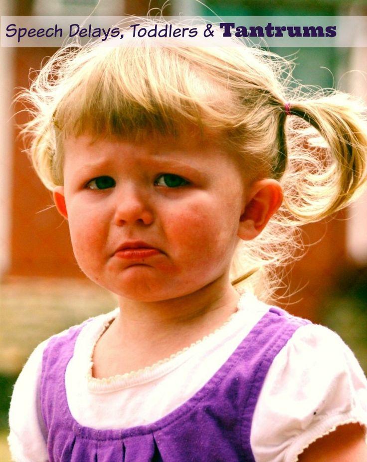 Toddler Speech Delays & Tantrums