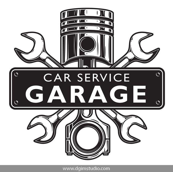 Car Service Car Repair Service Car Accessories For Guys Garage Logo