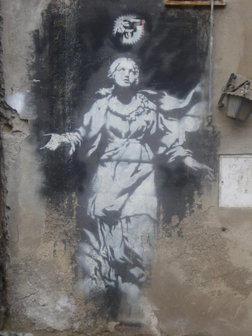 Bansky a Napoli