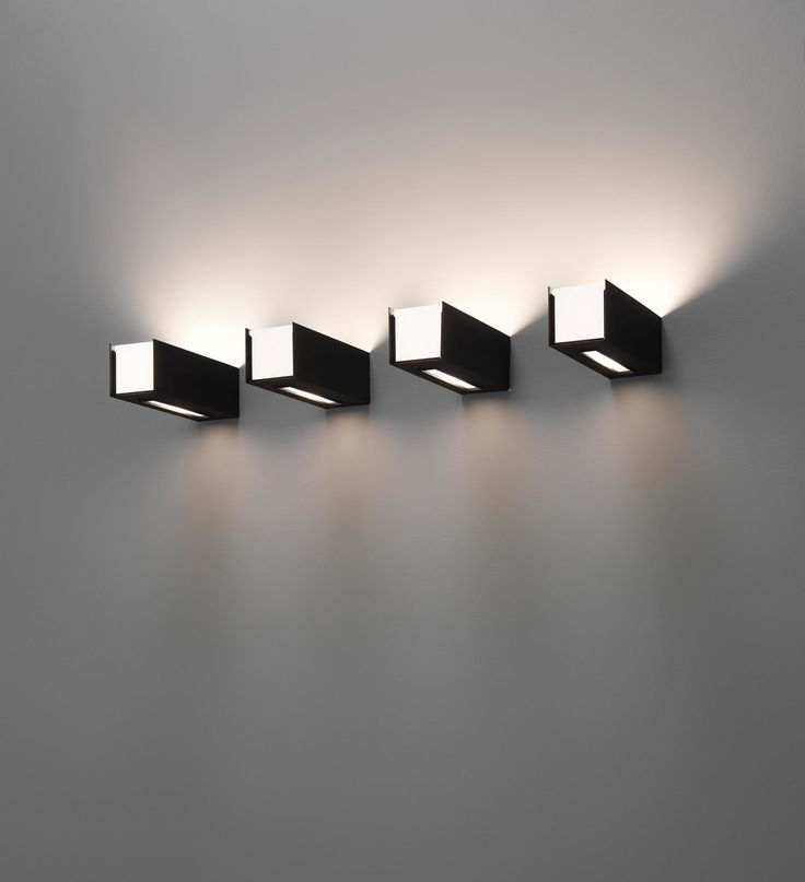 Gino Sarfatti; #249/1 Enameled Metal and Opaque Glass Wall Lights for Arteluce, c1963.