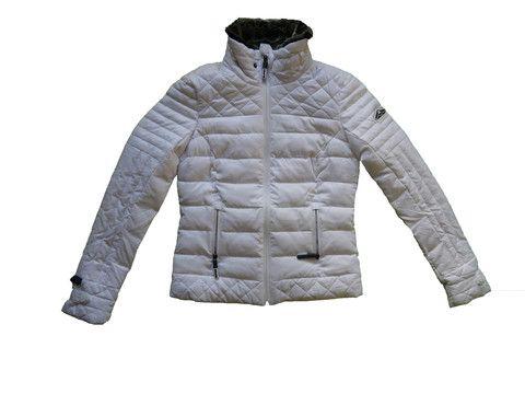 Copy of Superdry Womens Fuji Race Biker Jacket Winter White – Moyheeland Traders