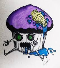 cute cupcakes drawing - Google Search