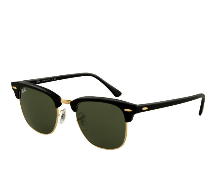 Ray-Ban Clubmaster, 51 mm, Gold | Solbriller | LensOn.com