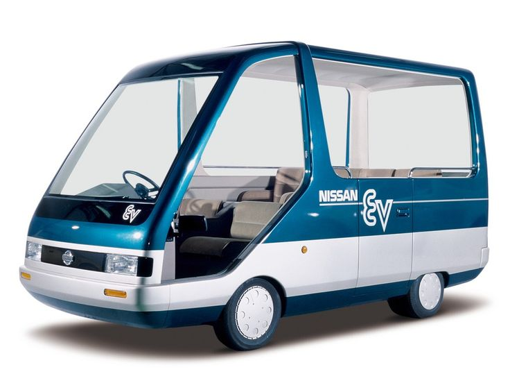 Nissan EV Guide-II Concept (1985)