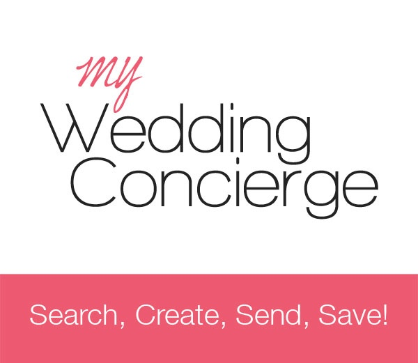 My Wedding Concierge... Search, Create, Send, Save!    http://www.myweddingconcierge.com.au