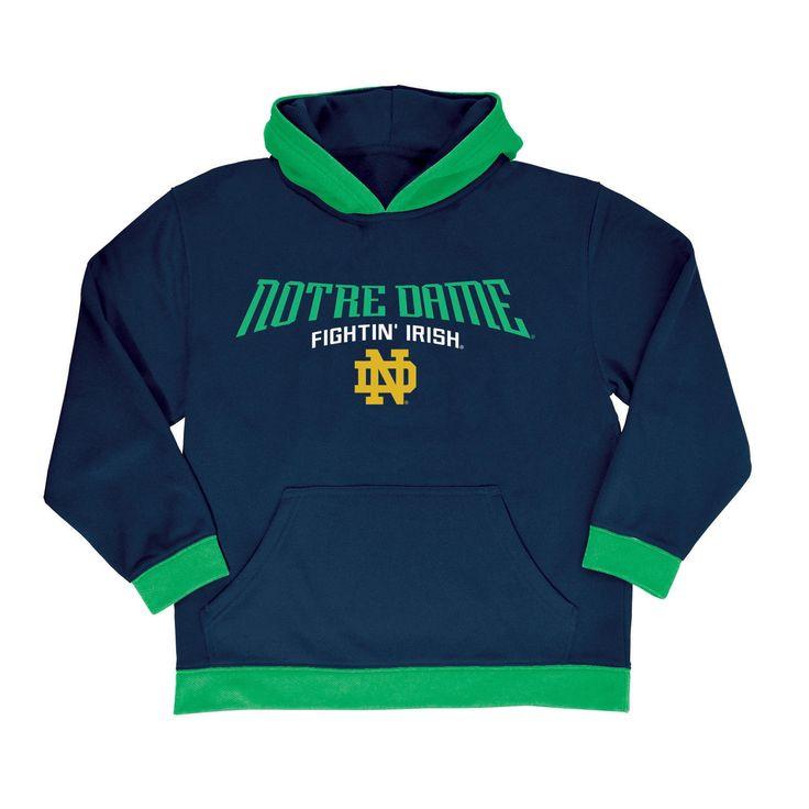 NCAA Boys' All Star Pullover Poly Hoodie Sweatshirt Notre Dame Fighting Irish - XS, Multicolored