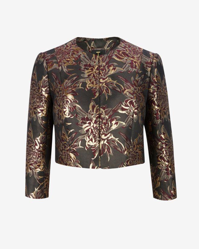 how to wear metallic jacket