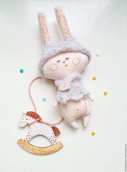Soft toy Bunny / Игрушки животные, ручной работы. Неженка. Мастерская Совенка…