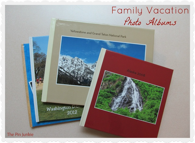 vacation photo albums