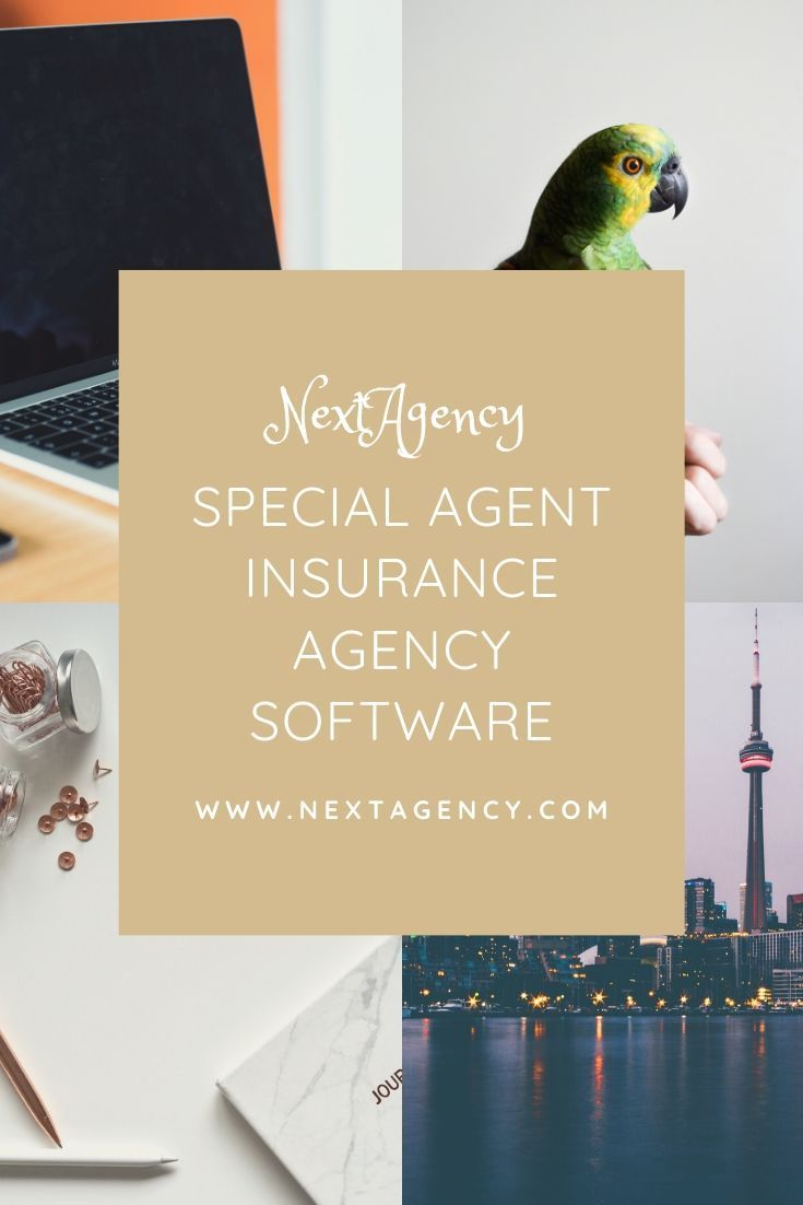 Special Agent Insurance Agency Software In 2020