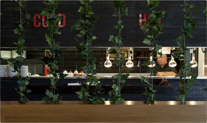 Green wall at The Phoenix by ctrl SPACE ltd.